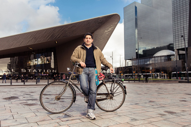 Picture of Pablo with bike